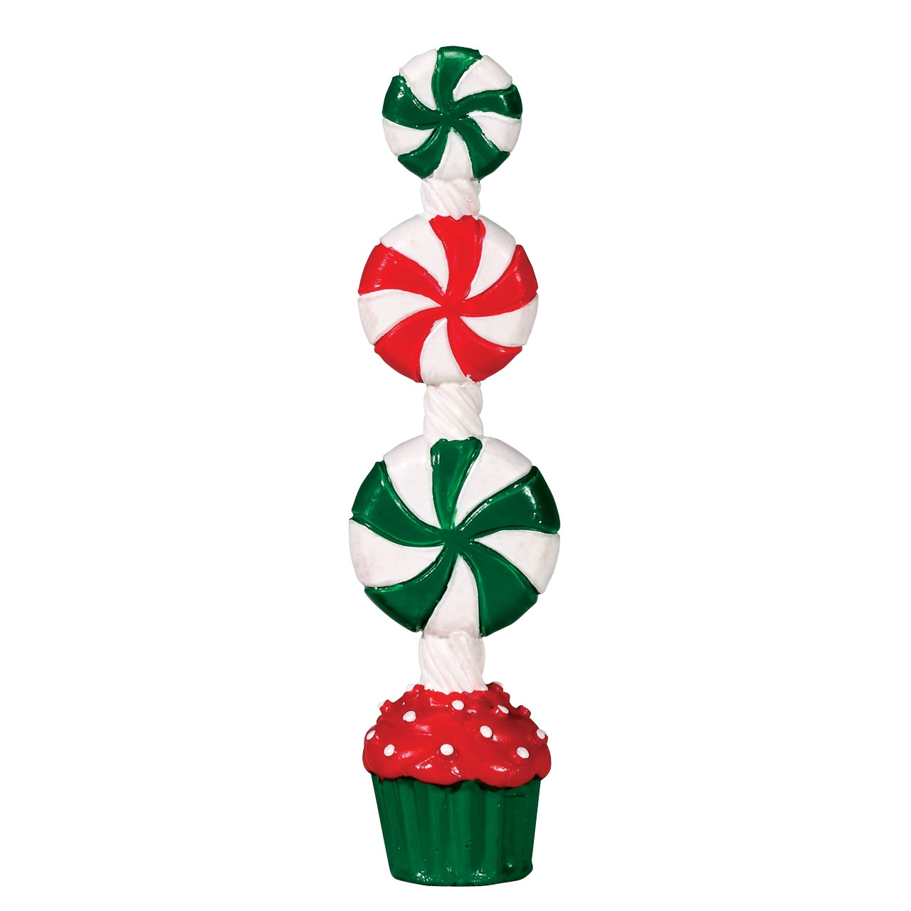 Peppermint Candy Topiary Lemax Christmas Village Accessory